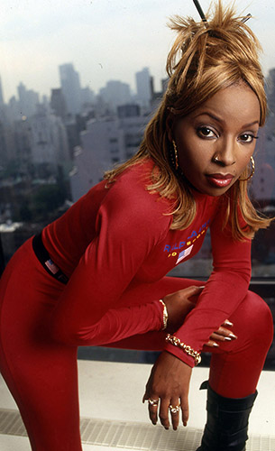 MARY J AT HOME